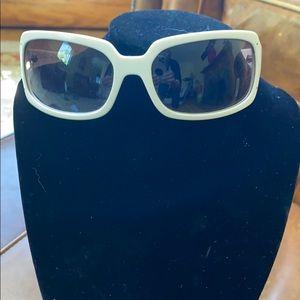 Coach white ladies sunglasses